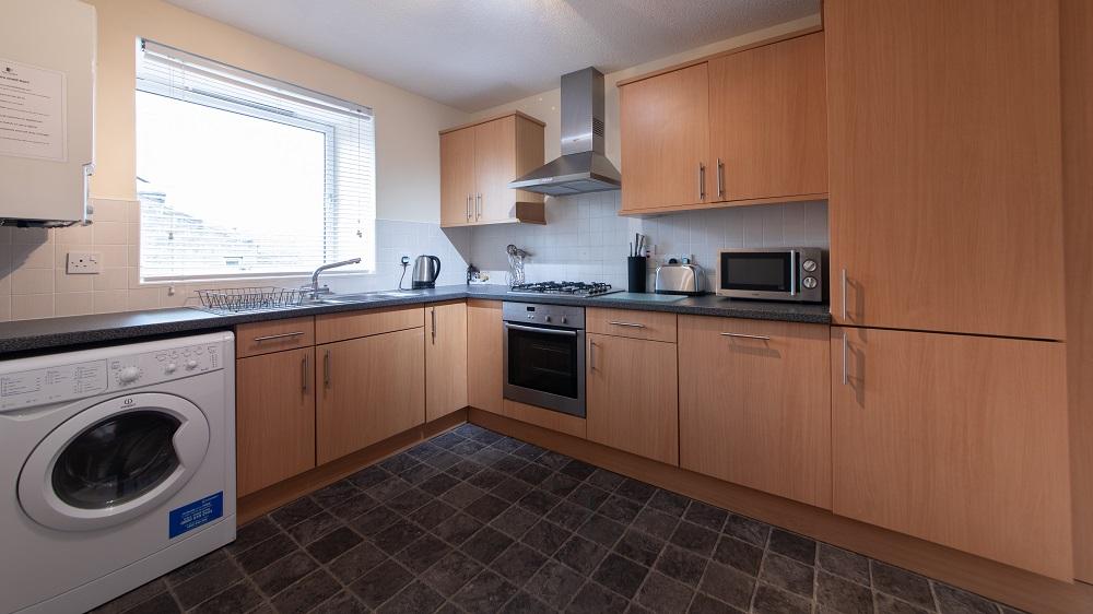 Kitchen at The Spires Aberdeen - Citybase Apartments