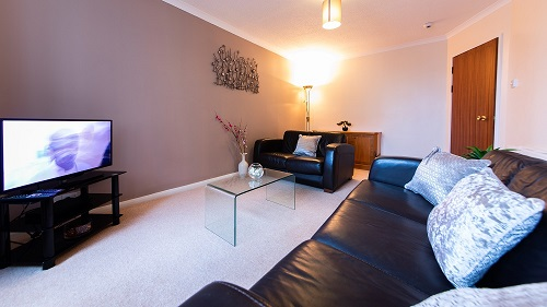 TV at The Spires Aberdeen - Citybase Apartments