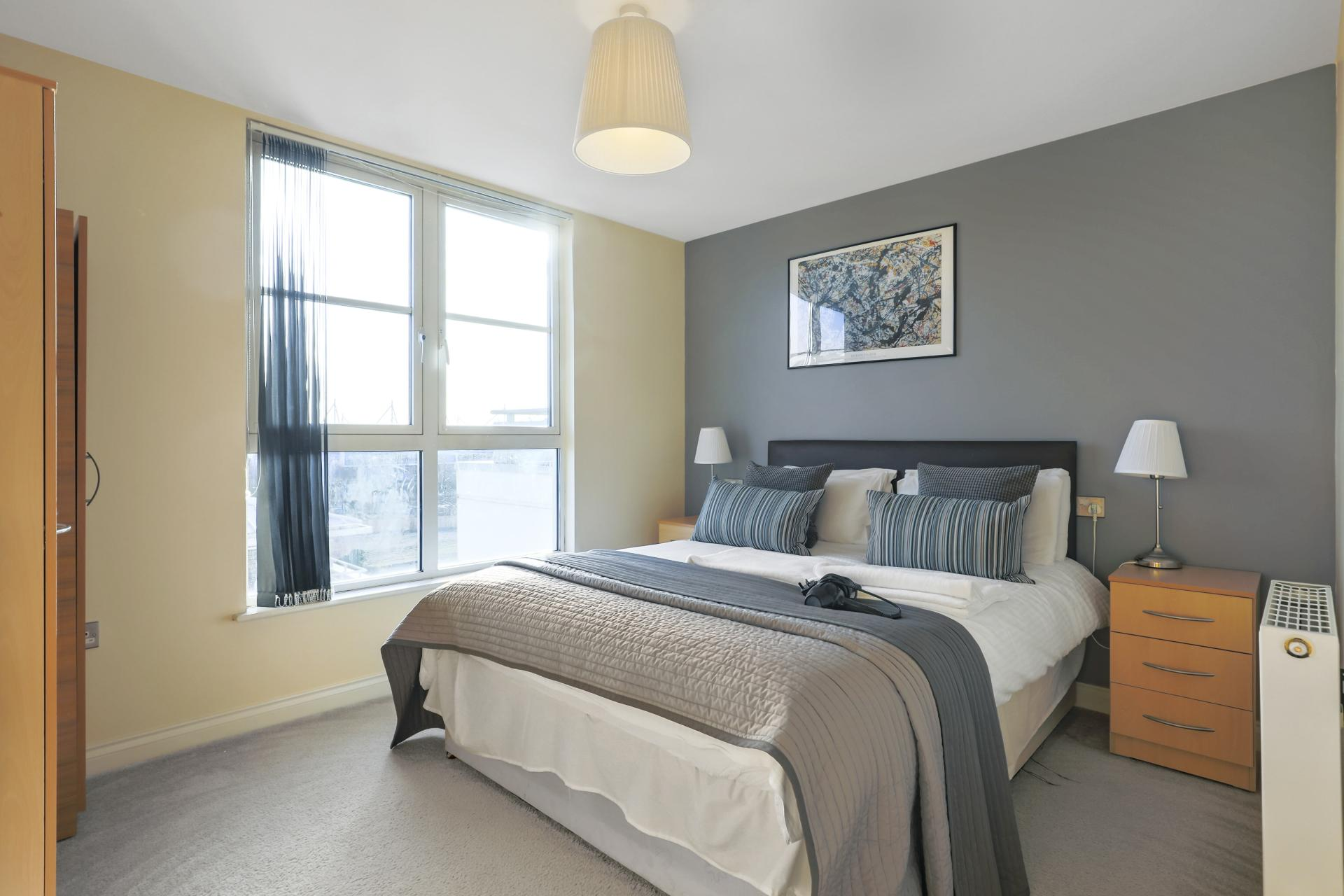 Bed at Freemens Meadow Apartments, Freemens Meadow, Leicester - Citybase Apartments