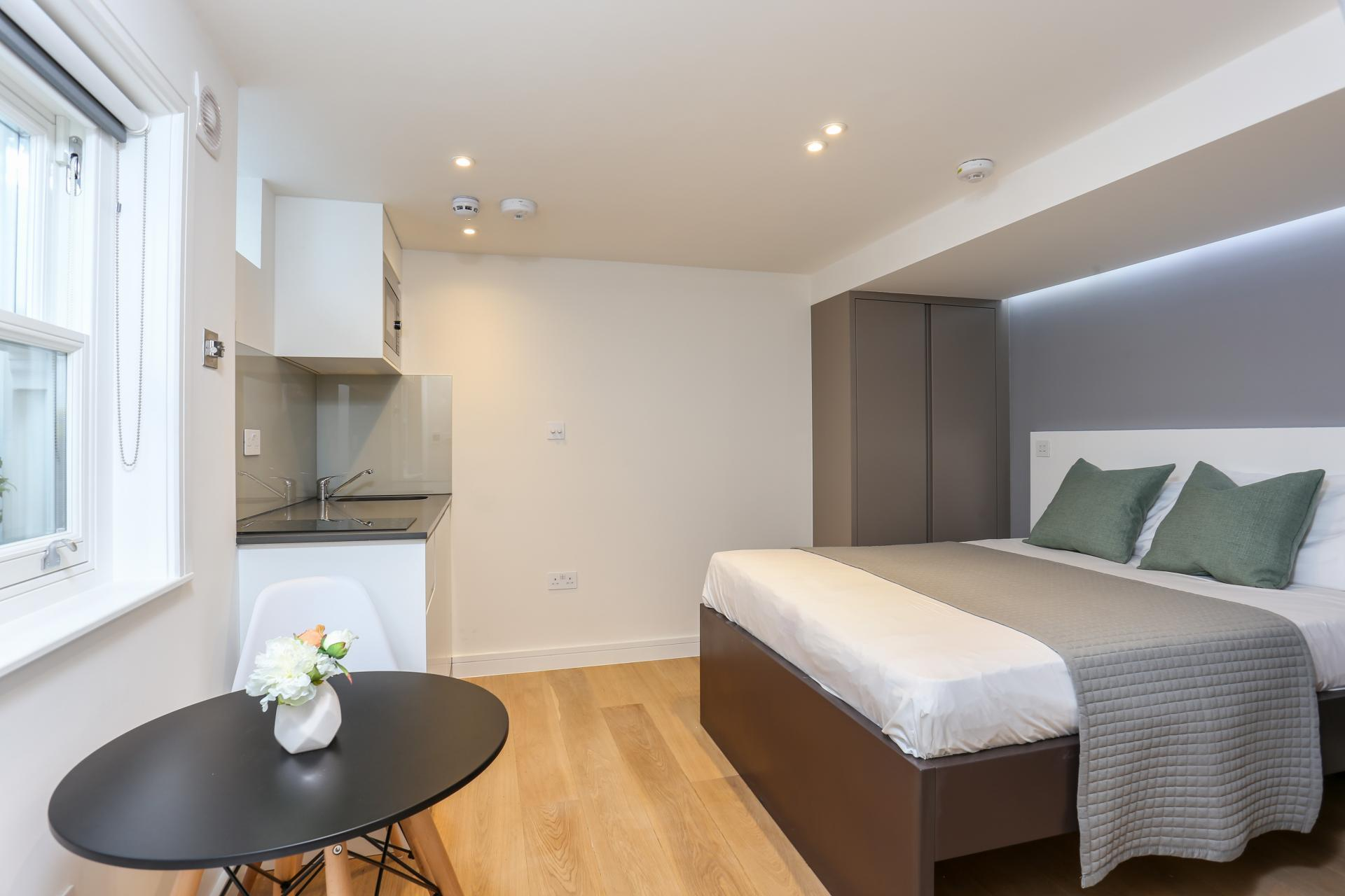 Modern studio at Inverness Terrace Apartments, Bayswater, London - Citybase Apartments