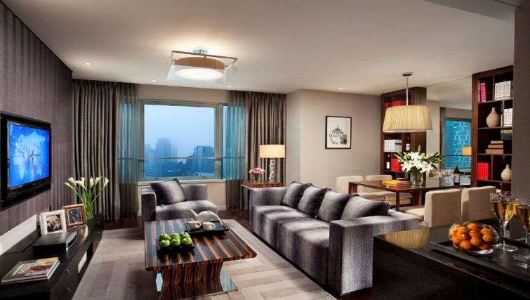 Exclusive living area in Ascott Huai Hai Road Apartments - Citybase Apartments