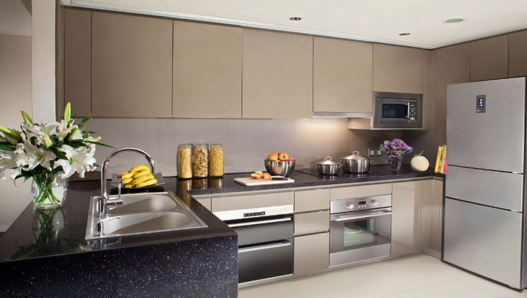Well equipped kitchen in Ascott Huai Hai Road Apartments - Citybase Apartments