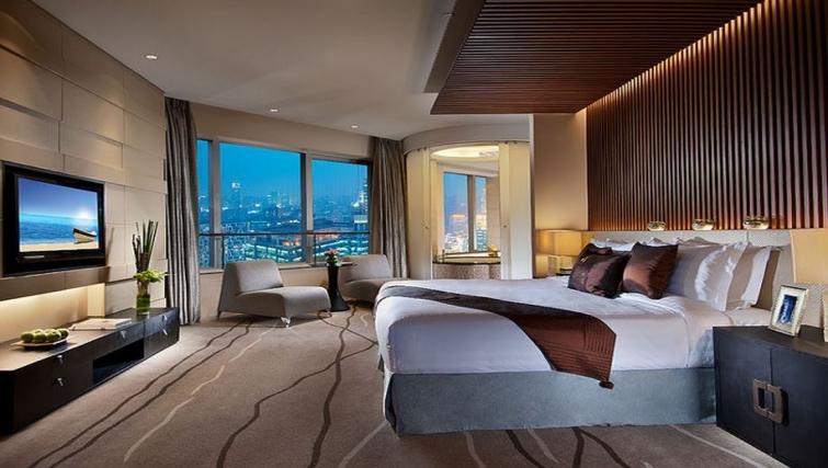 Modern bedroom in Ascott Huai Hai Road Apartments - Citybase Apartments