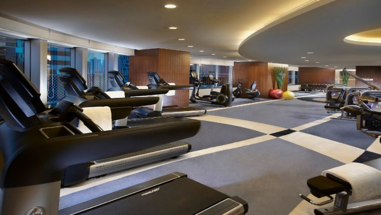 State of the art gym in Ascott Huai Hai Road Apartments - Citybase Apartments