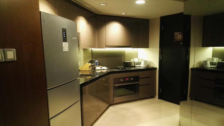 Kitchen at the Ascott Huai Hai Road Apartments - Citybase Apartments
