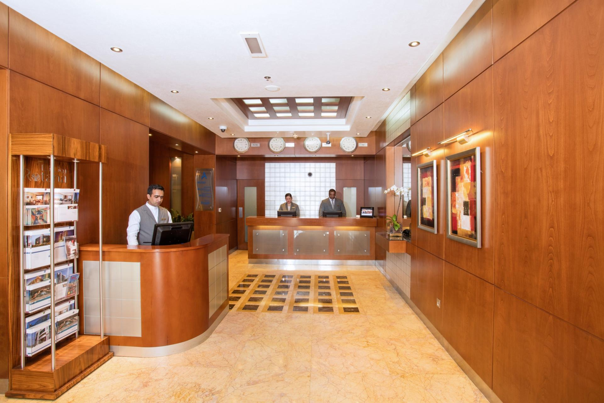 Lobby in Al Rawda Arjaan Apartments - Citybase Apartments