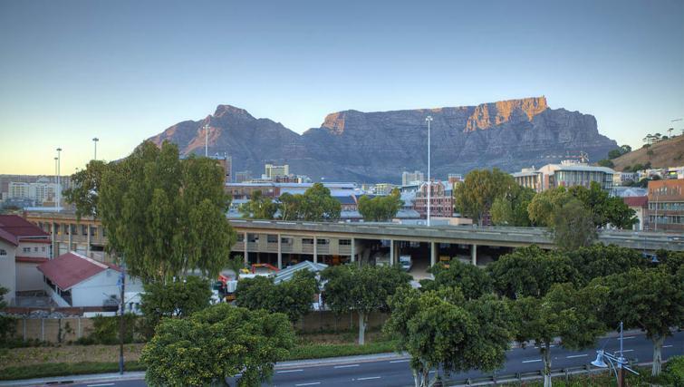 Mountain views at Waterfront Village - Citybase Apartments