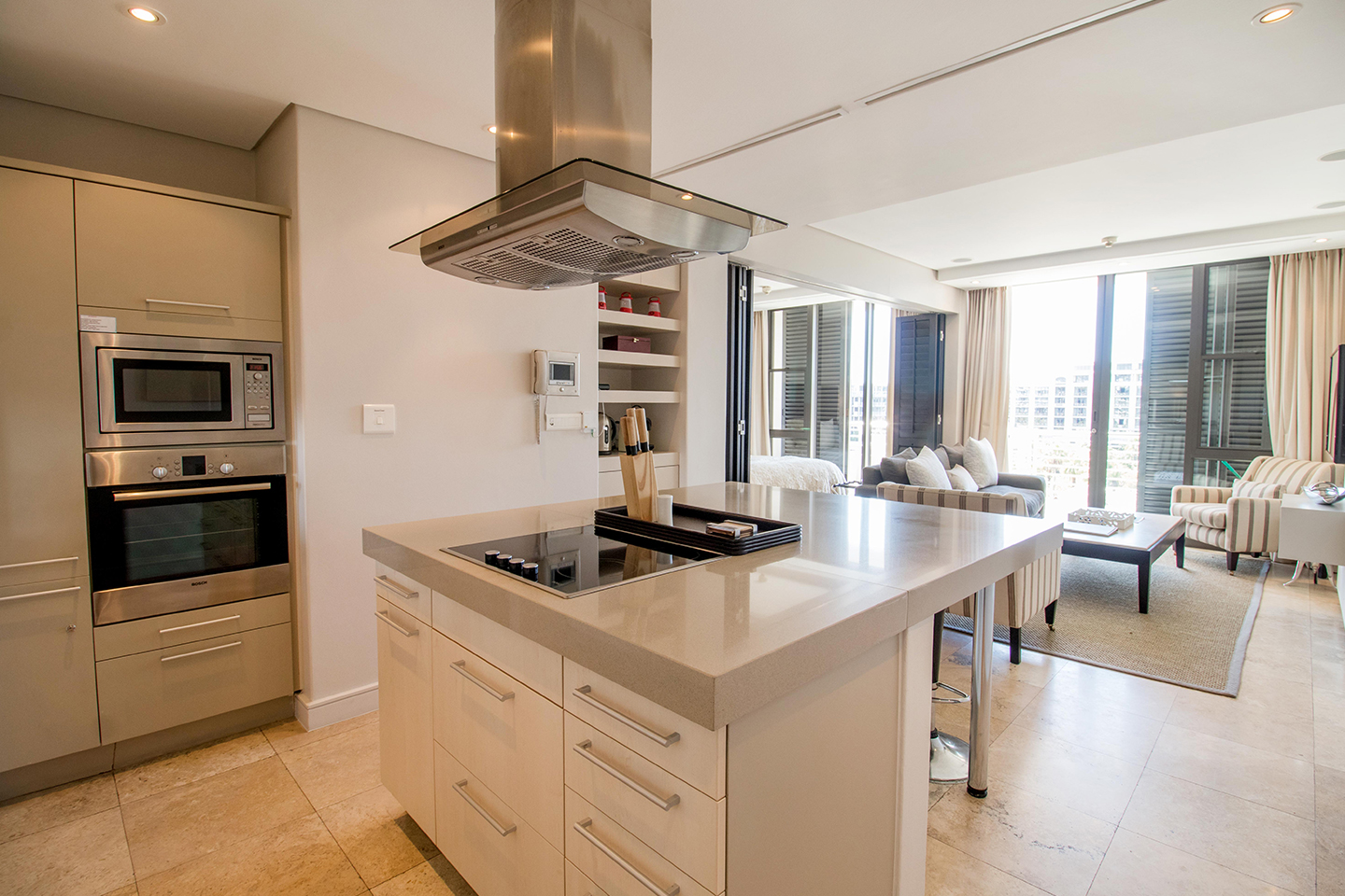 Kitchen at Waterfront Village - Citybase Apartments