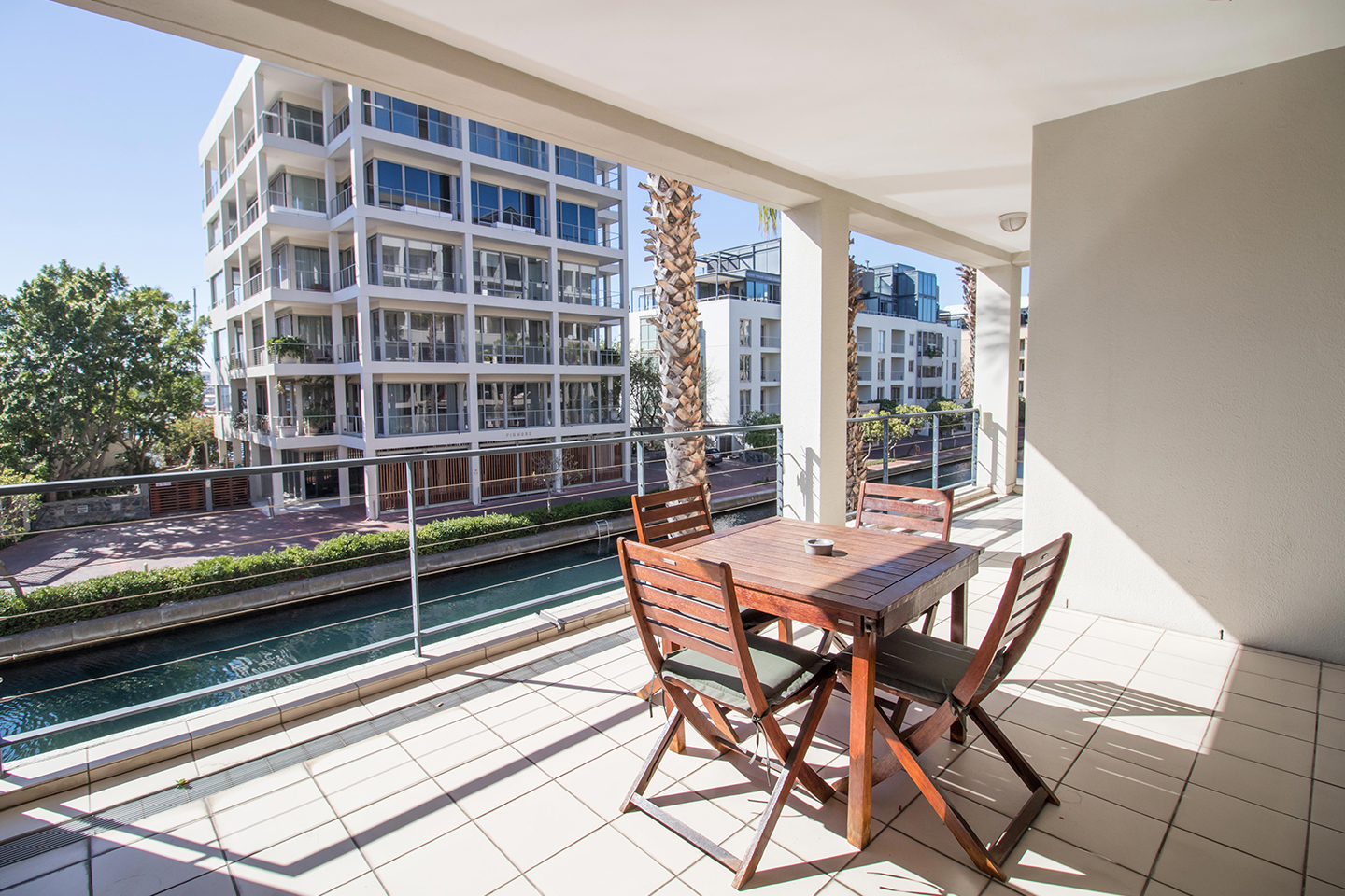 Balcony at Waterfront Village - Citybase Apartments