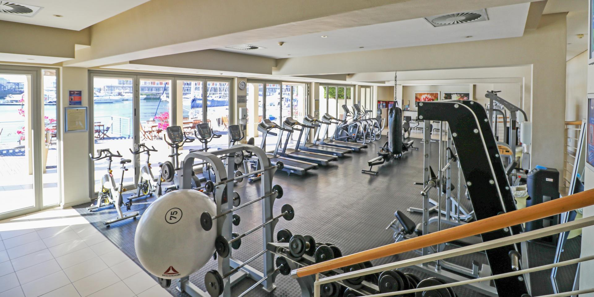 Gym at Waterfront Village - Citybase Apartments