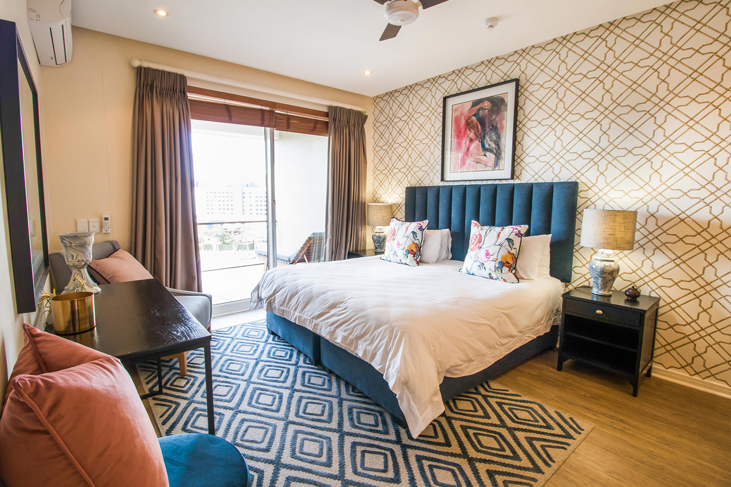 Bedroom space at Waterfront Village, Waterfront, Cape Town - Citybase Apartments