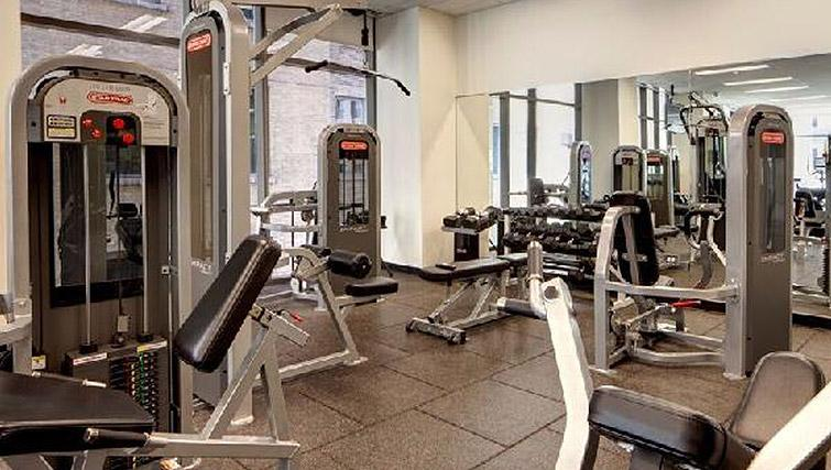 State of the art gym in 200 Squared - Citybase Apartments