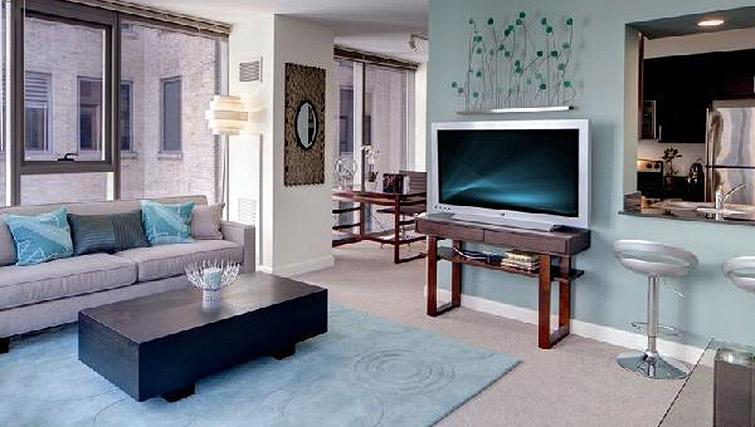 Superb living area in 200 Squared - Citybase Apartments