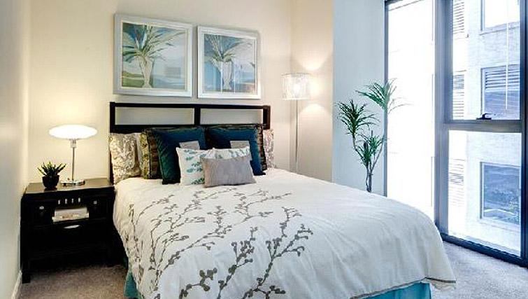 Bedroom at 200 Squared - Citybase Apartments
