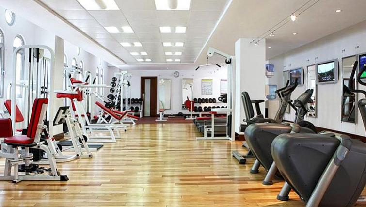 Well equipped gym at Villa Rotana Suites - Citybase Apartments