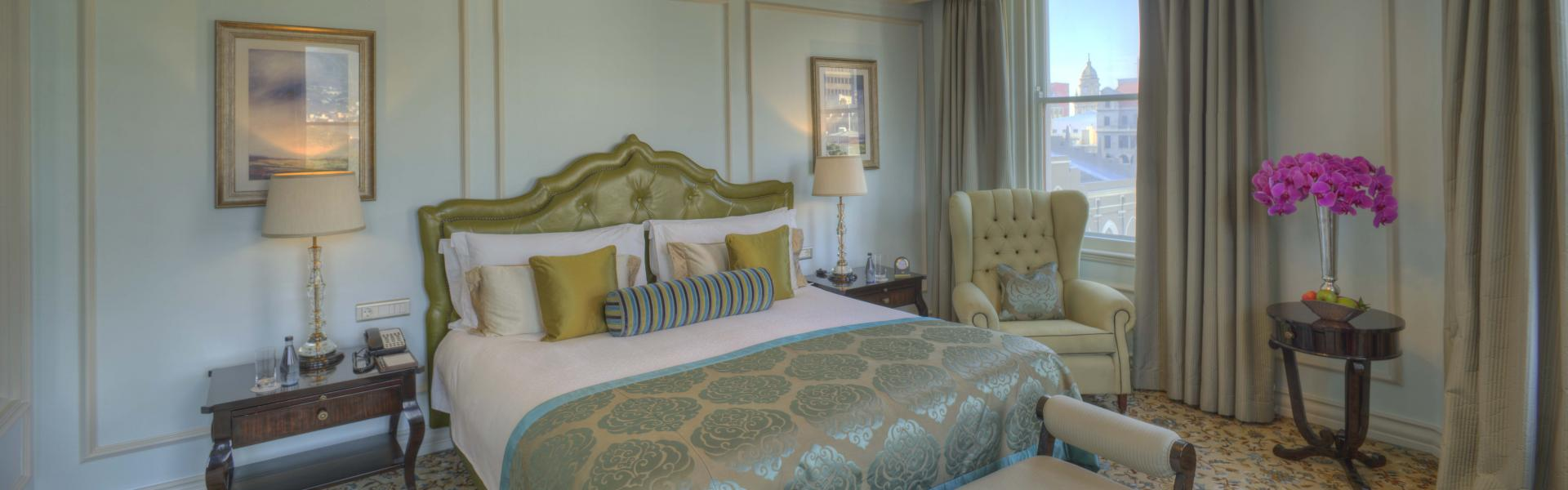 Heritage Bedroom at Taj Cape Town, Centre, Cape Town - Citybase Apartments