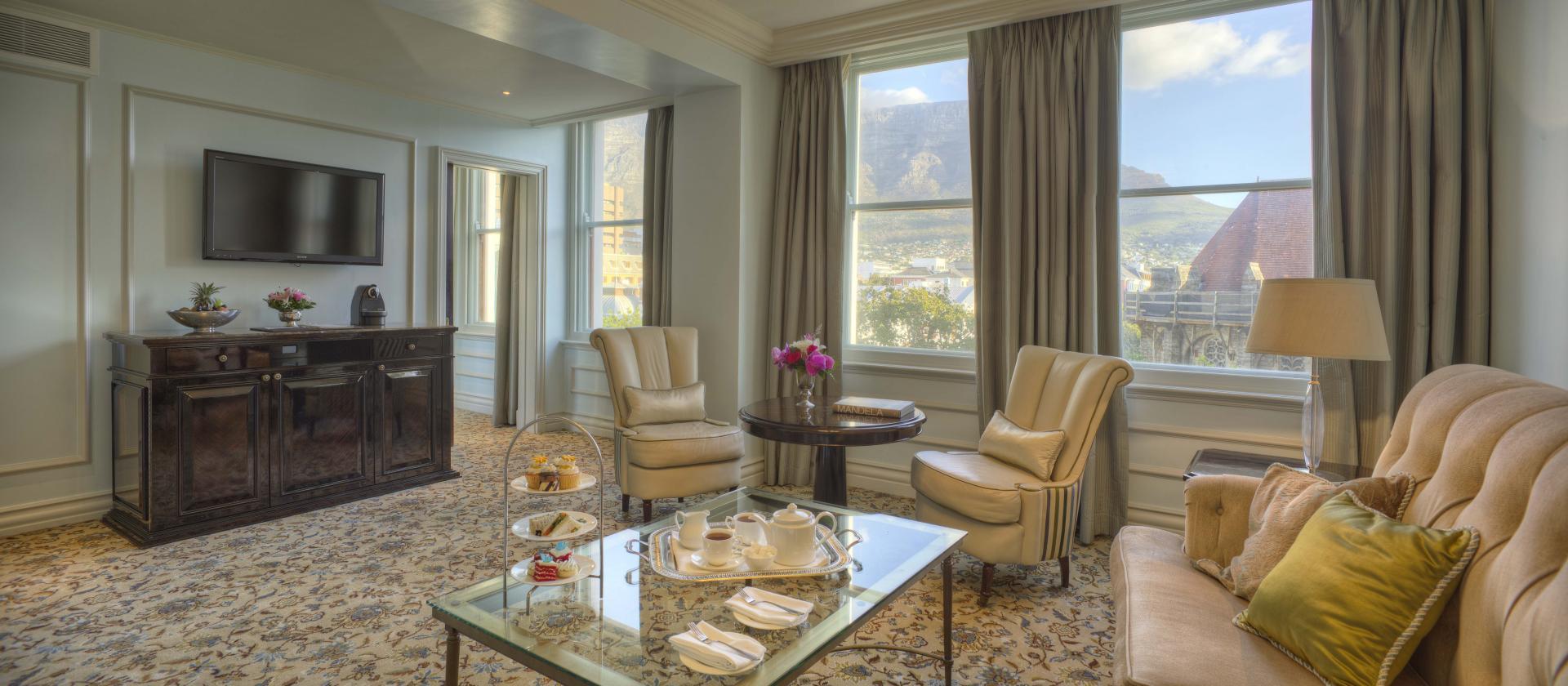Heritage Lounge at Taj Cape Town, Centre, Cape Town - Citybase Apartments