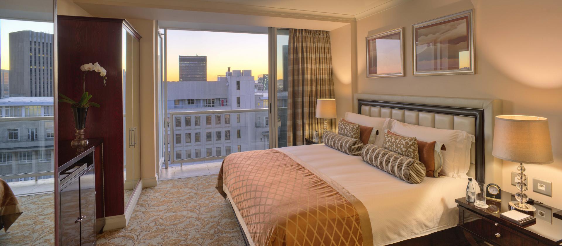Master Bedroom at Taj Cape Town, Centre, Cape Town - Citybase Apartments