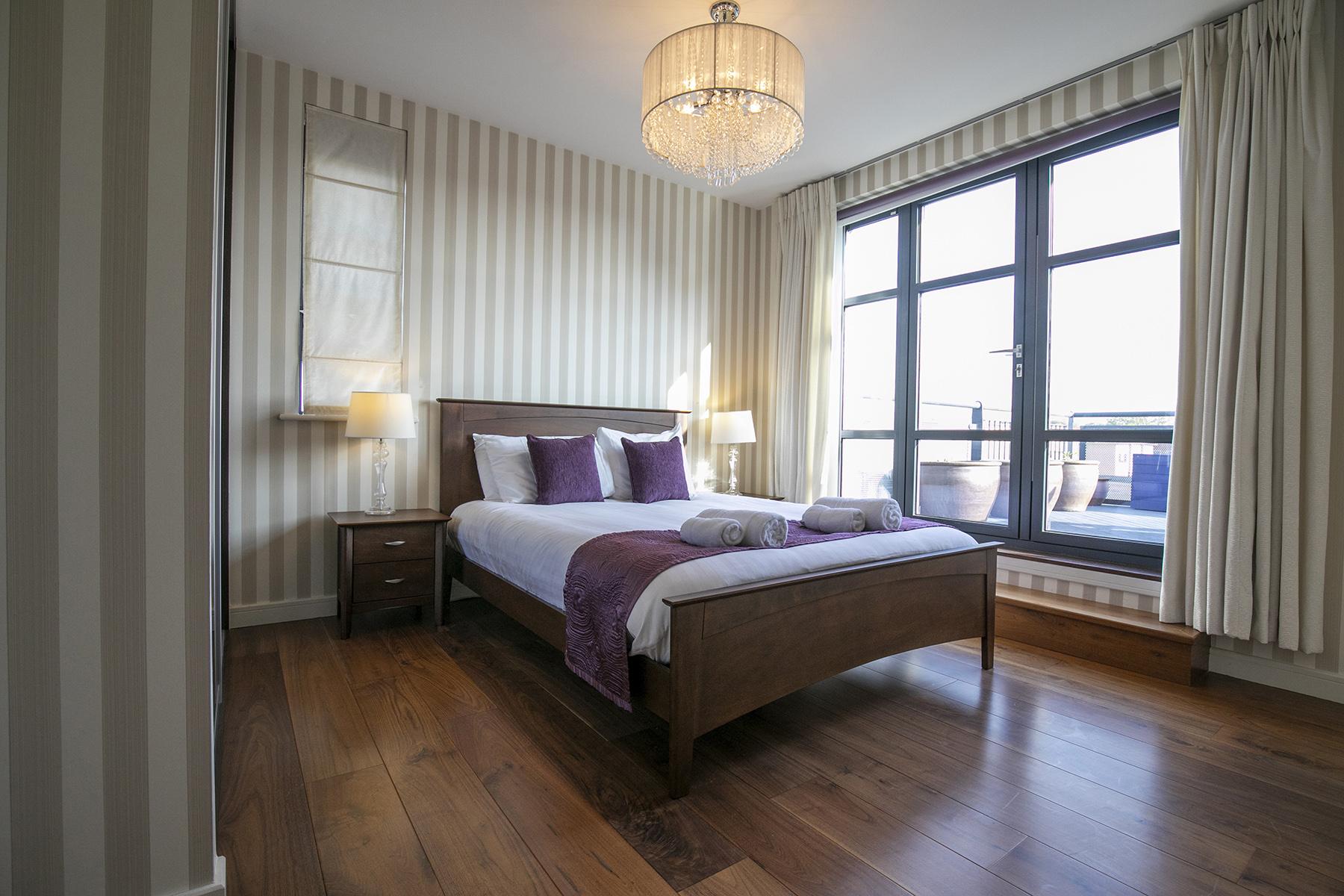 Bed at Wallis Square Apartments, Centre, Farnborough - Citybase Apartments
