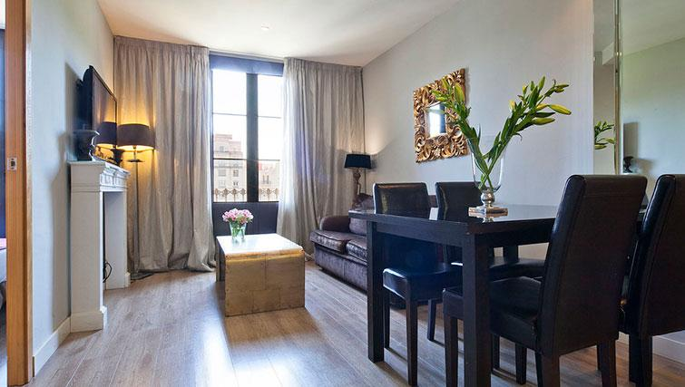 Lounge at Grandom Suites Barcelona - Citybase Apartments