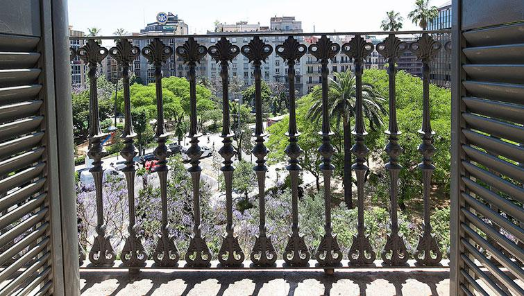 View from apartment at Grandom Suites Barcelona - Citybase Apartments