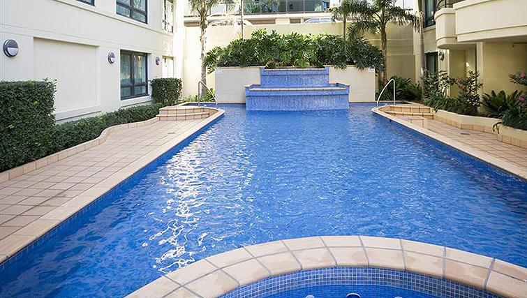 Swimming pool at Mantra Parramatta - Citybase Apartments