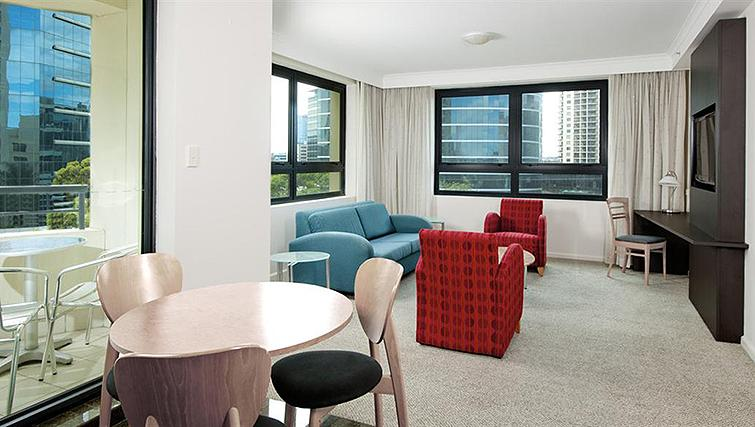 Refreshing living area at Mantra Parramatta - Citybase Apartments