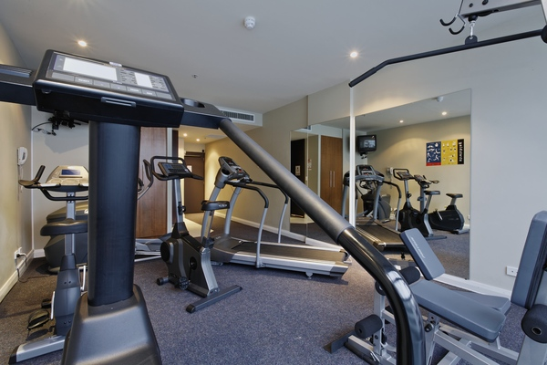 State of the art gym in Mantra Hindmarsh Square - Citybase Apartments