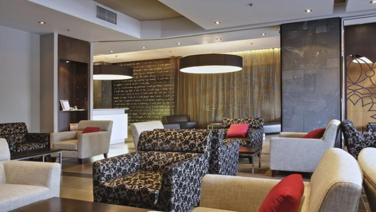 Lobby area at Mantra Hindmarsh Square - Citybase Apartments