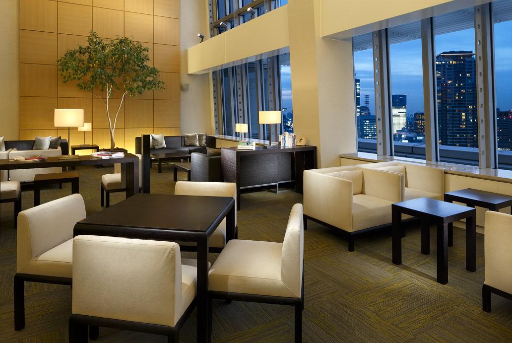 Residents' Lounge at Oakwood Residence Roppongi T-Cube Tokyo - Citybase Apartments