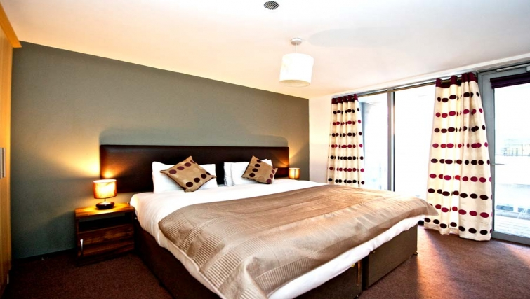Amazing bedroom in Staycity Dublin Millennium Walk - Citybase Apartments