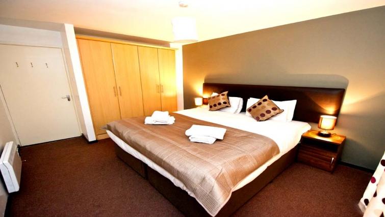 Delightful bedroom in Staycity Dublin Millennium Walk - Citybase Apartments