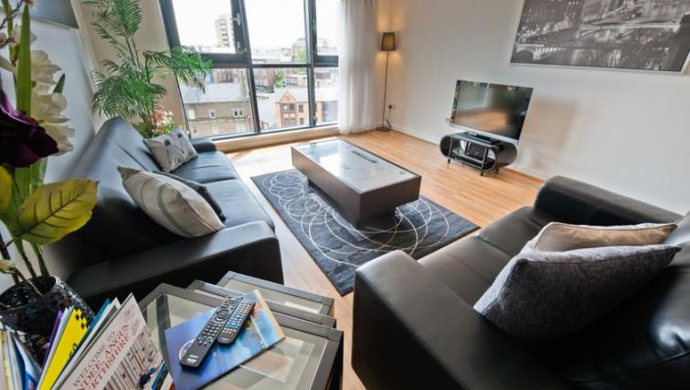 Lounge at Westport Luxury Serviced Apartments - Citybase Apartments