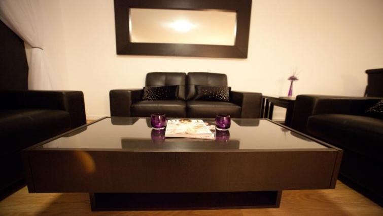 Sofa at Westport Luxury Serviced Apartments - Citybase Apartments