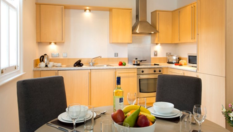Dining area in SACO Cardiff - Citybase Apartments