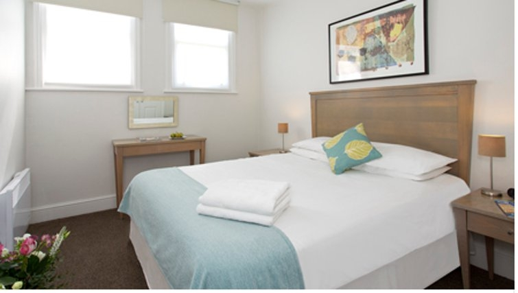 Bedroom in SACO Cardiff - Citybase Apartments