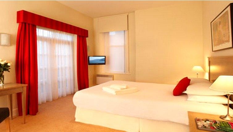 Bedroom at SACO Cardiff - Citybase Apartments