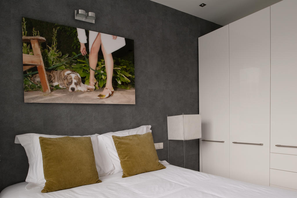 Bed at Cocoon Apartment, Centre, Rotterdam - Citybase Apartments