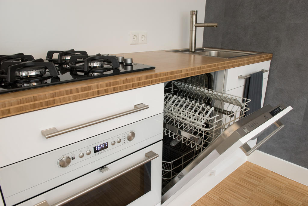 Kitchen at Cocoon Apartment, Centre, Rotterdam - Citybase Apartments