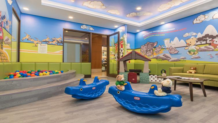 Children's play area at Ascott Makati Apartments - Citybase Apartments