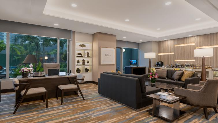 Stunning lounge area at Ascott Makati Apartments - Citybase Apartments