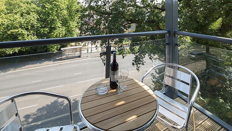Balcony at Equinox Place - Citybase Apartments