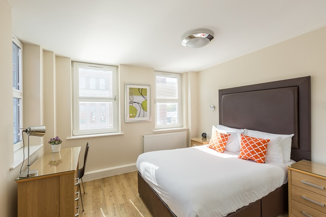 Bedroom at Central House - Citybase Apartments