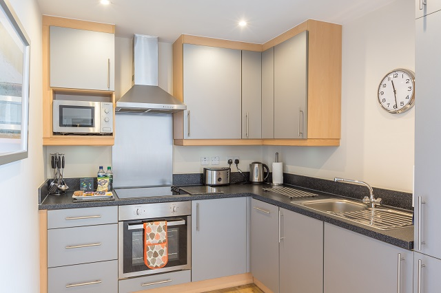 Kitchen at Central House - Citybase Apartments
