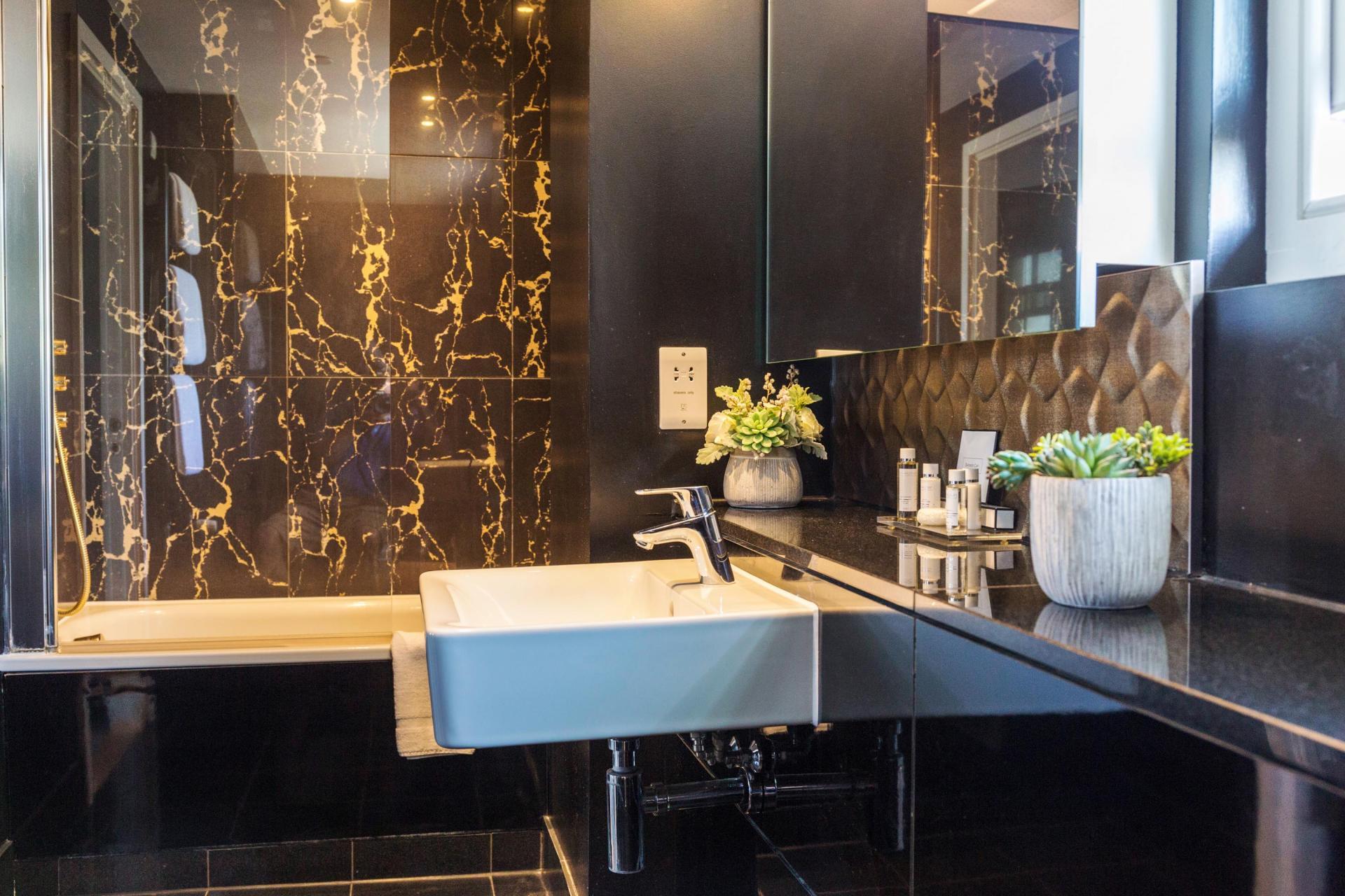 Bathroom at Native Hyde Park Apartments, Hyde Park, London - Citybase Apartments