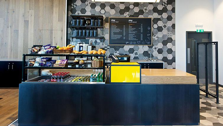 Cafe at Staycity London Heathrow - Citybase Apartments