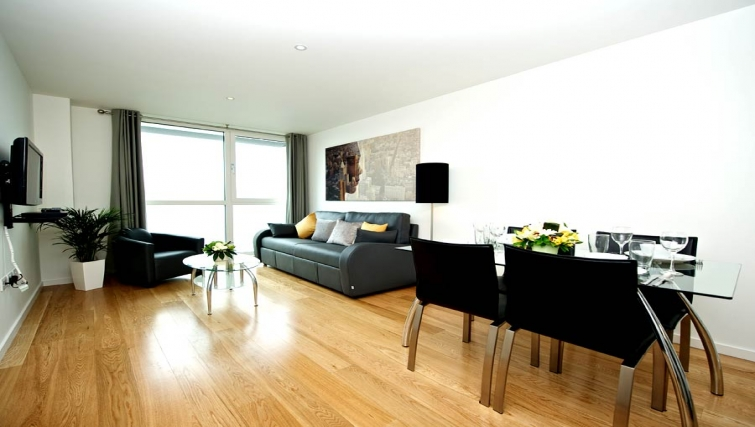 Peaceful living area in Staycity London Heathrow - Citybase Apartments