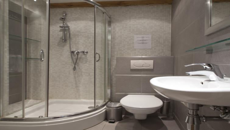 Pristine bathroom at Stephan Apartments, Amsterdam - Citybase Apartments