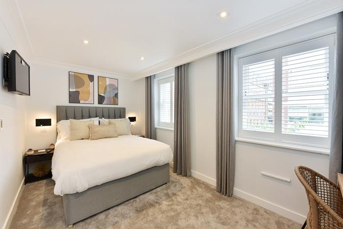 Bedroom at 42 James Street Apartments, Marylebone, London - Citybase Apartments