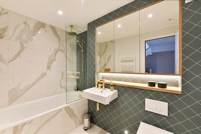 Bathroom at 42 James Street Apartments, Marylebone, London - Citybase Apartments